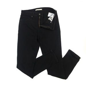 WJ107 Levi's 721 High Rise Skinny Jeans 29